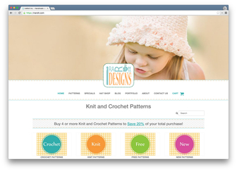 IraRott.com - online store of knit and crochet patterns