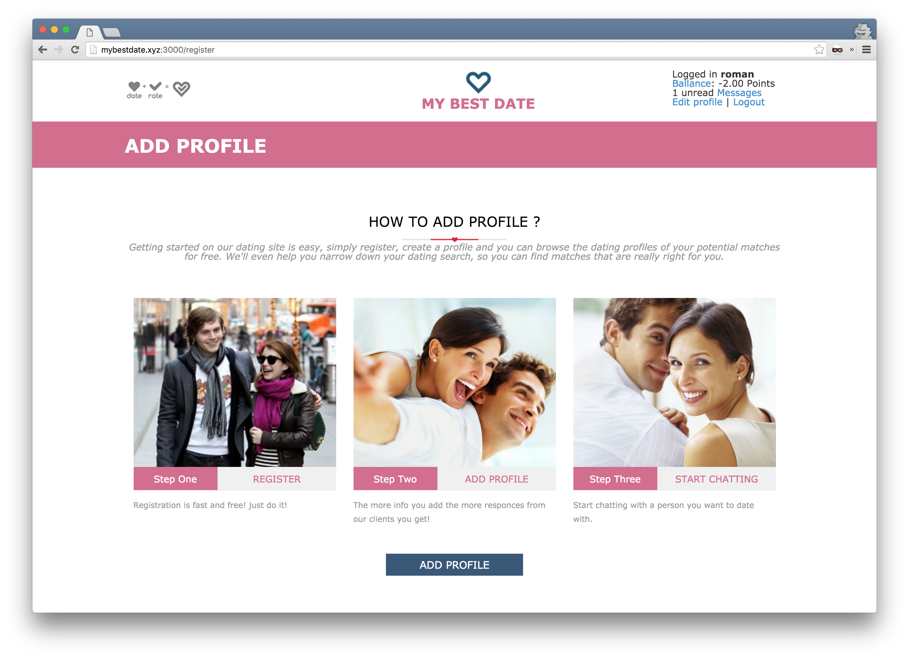 Create Your Own Online Dating Website