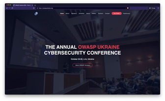OWASP Ukraine 2019 website