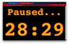 Screenshot of OWASP Ukraine Conference timer paused